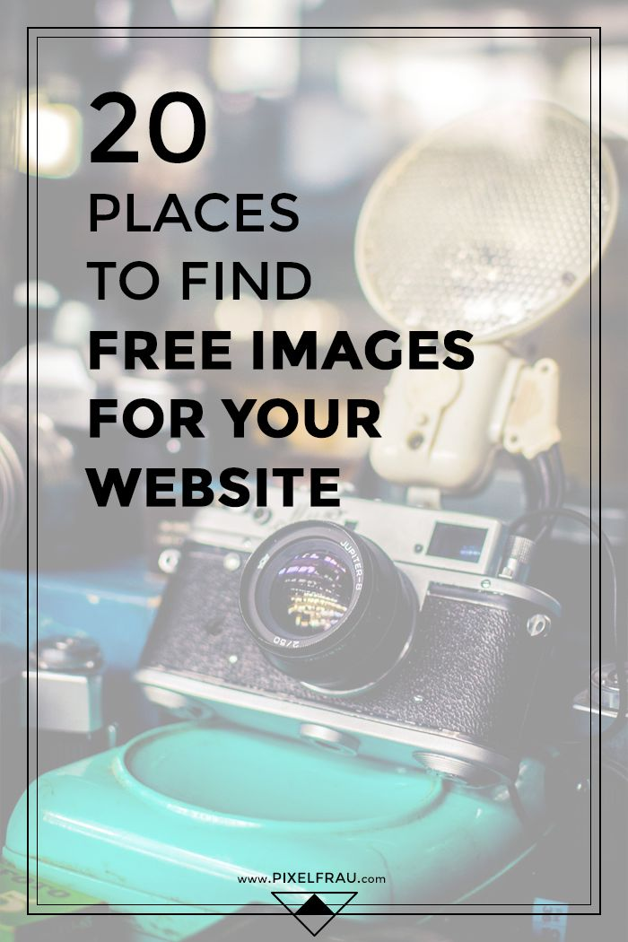 20 Places to Find Free Images for Your Website