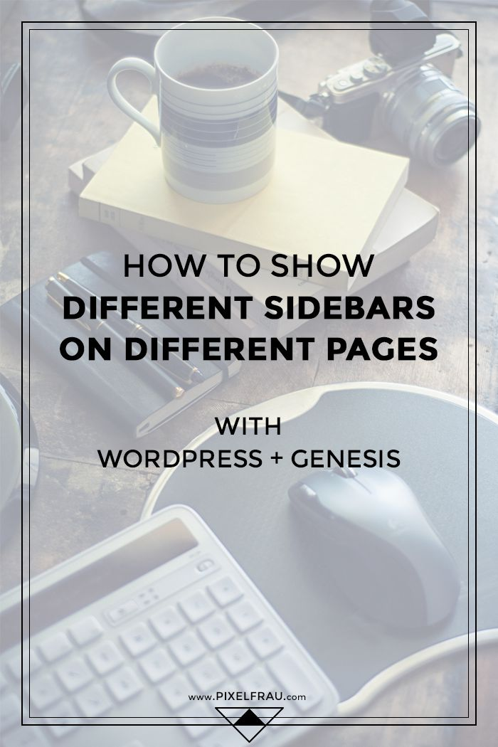 How to Display Different Sidebars on Different Pages with the Genesis Simple Sidebars Plugin