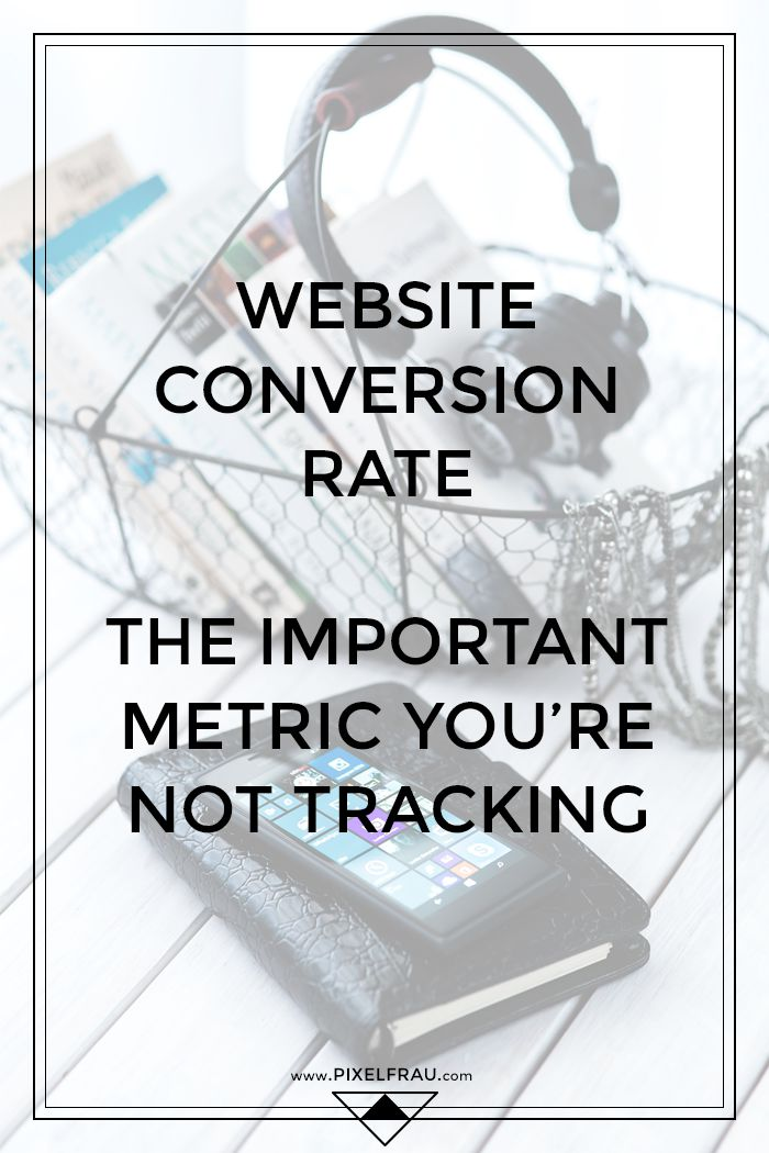 What is a website conversion rate?